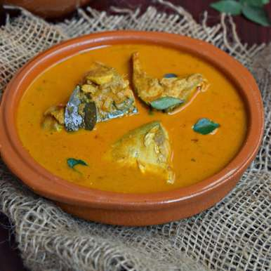 Photo of Meen Kulambu/Fish Curry with Coconut by Poornima Porchelvan at BetterButter
