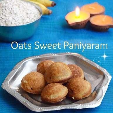 Photo of Oats Sweet Paniyaram / Oats Paniyaram / Oats Appam by Poornima Porchelvan at BetterButter