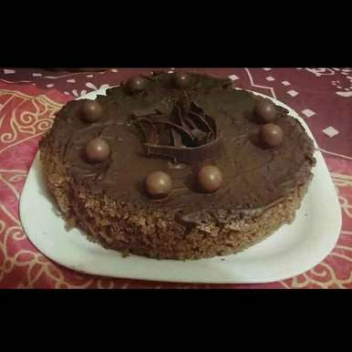 Photo of Rava Curd Chocolate Cake by Poorva Kamath at BetterButter