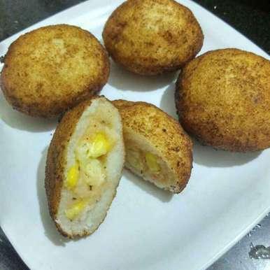 Photo of Rava Corn Balls by Poorva Kamath at BetterButter