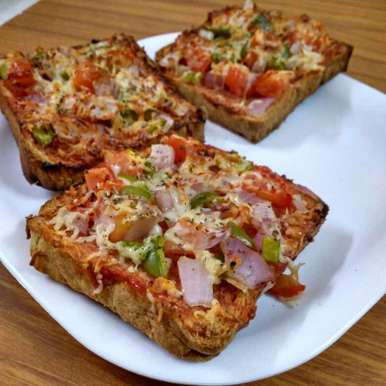 Photo of Veggie Bread Pizza by Poorva Kamath at BetterButter
