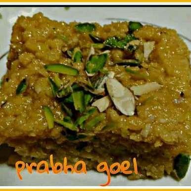 Milk cake recipe in Hindi,मिल्क केक, Prabha Goel