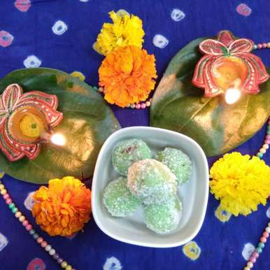 Photo of Coconut paan balls by Prachi Lalwani at BetterButter
