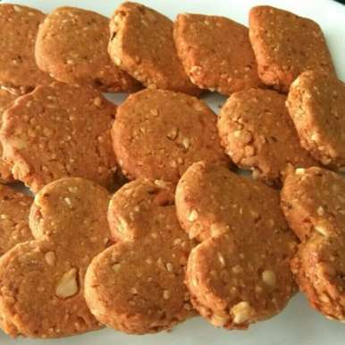 Photo of Peanut whole wheat cookies by Pradeepa Nair at BetterButter
