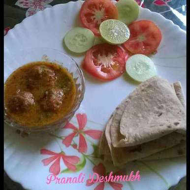 Photo of Kancha pepers kofta curry by Pranali Deshmukh at BetterButter