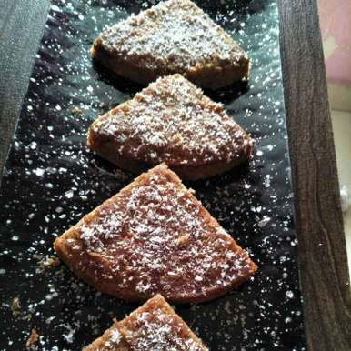 Photo of Water chestnuts cake by Pranali Deshmukh at BetterButter
