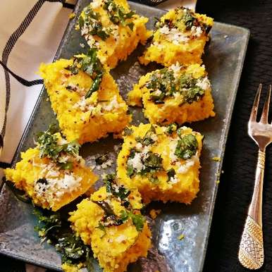 Photo of Microwave Instant Dhokla by Prasanna Hede at BetterButter