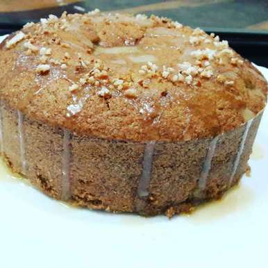 Photo of Toasted coconut and caramel cake by Praseetha Sambhu at BetterButter