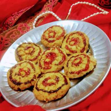 Photo of Sweet salty jamy cooker biscuit by Pratima Pradeep at BetterButter