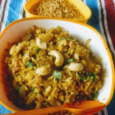 Photo of Banarasi chuda aalu (poha potato) by Pratima Pradeep at BetterButter