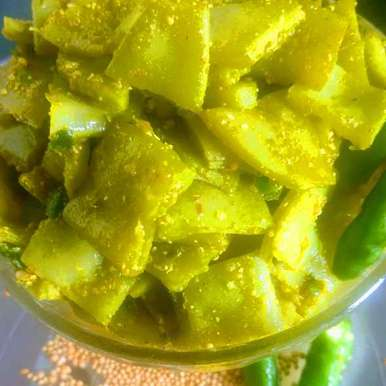 Photo of Sem ka achar by Pratima Pradeep at BetterButter