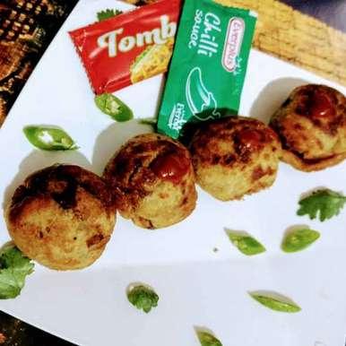 Appe pan me bana bread roll recipe in Hindi,अप्पे पैन मे बना ब्रेड रोल, Pratima Pradeep