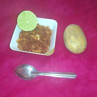 Potato Lemon Chutney recipe in Telugu,బంగాళదుంప నిమ్మరసం పచ్చడి, Pravallika Srinivas