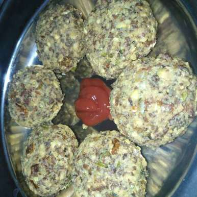 Mint chickpea vada recipe in Telugu,పుదీనా శనగల వడలు, Pravallika Srinivas