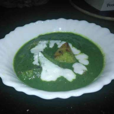 Photo of Potato Spinach Gravy  by Pravallika Srinivas at BetterButter