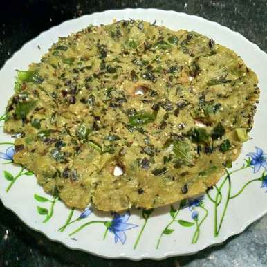 Photo of Moringa leaves rice flour pan cake by Pravallika Srinivas at BetterButter