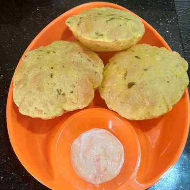Photo of Methi poori by Pravallika Srinivas at BetterButter