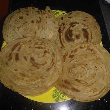 Photo of Wheat flour malabar parata by Pravallika Srinivas at BetterButter