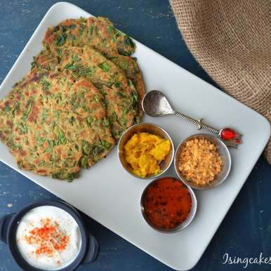 Photo of Methi Dhapate(Fenugreek flatbreads) by Preeti Deo at BetterButter