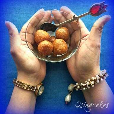 Photo of Sweet Potatoes Gulab Jamun by Preeti Deo at BetterButter
