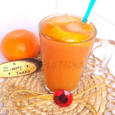 Photo of Orange Iced Tea by Preeti Garg at BetterButter
