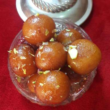 Photo of Gulabjamun by Preeti Jaiswani at BetterButter