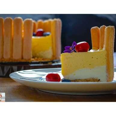 Photo of Mango yogurt cake by Pritha Chakraborty at BetterButter