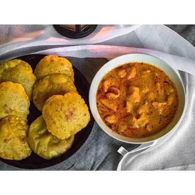 Photo of Potato in yogurt sauce by Pritha Chakraborty at BetterButter