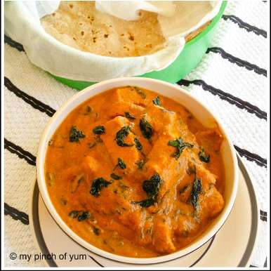Photo of Methi-Murgh or Fenugreek-Chicken Curry by Priti Shetty Naiga at BetterButter