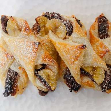 Photo of Quick and Easy Nutella–Banana Puffs by Priti Shetty Naiga at BetterButter
