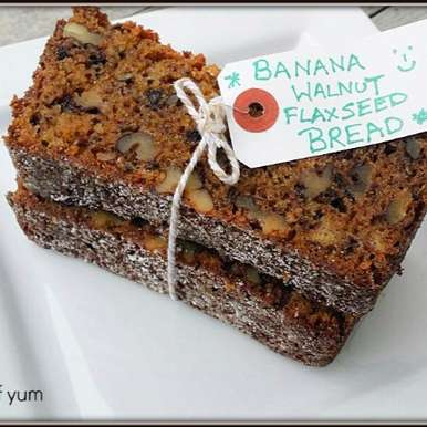 Photo of Banana Walnut & Flax Seed Bread by Priti Shetty Naiga at BetterButter