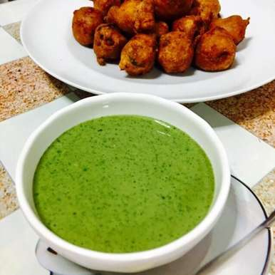 Photo of Mint coriander chutney/ green chat chutney by Priya Mani at BetterButter