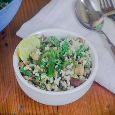 Photo of Mixed Beans and Rice Salad by Priya Srinivasan at BetterButter