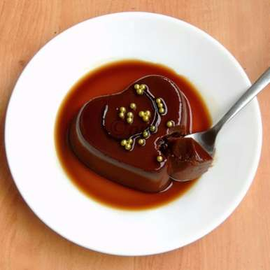 Photo of No Bake Eggless Chocolate Crème Caramel by Priya Suresh at BetterButter
