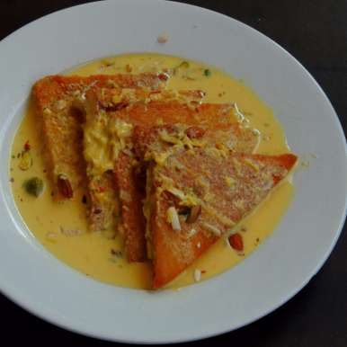 Photo of Shahi Tukda/Shahi Tukra - Royal Bread Pudding by Priya Suresh at BetterButter