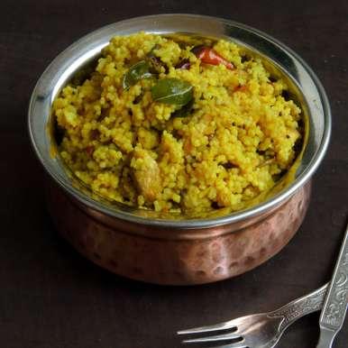 Photo of Raw Mango & Mushroom Kodomillet Rice by Priya Suresh at BetterButter