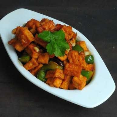 Photo of Kung Pao Tofu/Vegan Kung Po Tofu by Priya Suresh at BetterButter