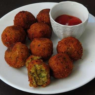 Photo of Mint Sweet Corn Balls/Pudhina Sweet Corn Kola Urundai by Priya Suresh at BetterButter