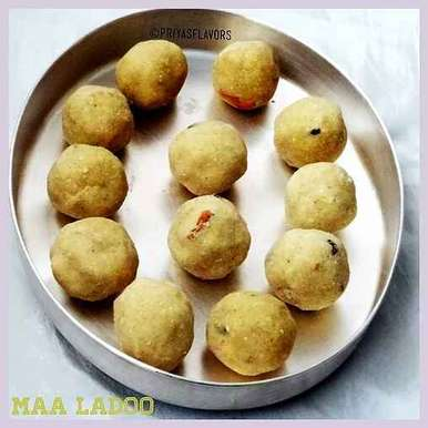 Maa Ladoo / Roasted Gram Dal Ladoo, How to make Maa Ladoo / Roasted Gram Dal Ladoo