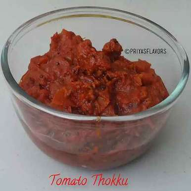 Photo of Tomato Thokku /Thakkali Thokku by Priya Tharshini at BetterButter