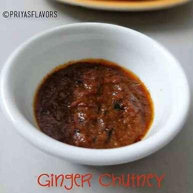 GINGER CHUTNEY / INJI CHUTNEY / ALLAM PACHADI, How to make GINGER CHUTNEY / INJI CHUTNEY / ALLAM PACHADI