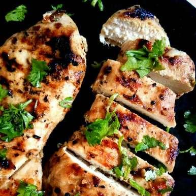 Photo of Gondhoraj lime and Syracuse grilled chicken by Priyanjali Joardar at BetterButter