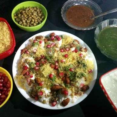 Photo of Idli Dahi chaat ( With veggies & Moong ) by Priyanka Bapardekar at BetterButter