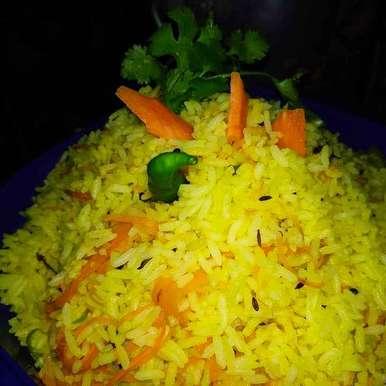 Photo of Carrot rice by Priyanka Chakroborty at BetterButter