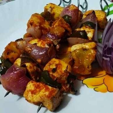 Photo of Paneer tikka kabab by Priyanka Chakroborty at BetterButter