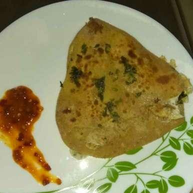 Egg Parantha, How to make Egg Parantha
