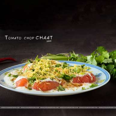 Photo of Tomato Chop Chaat by Priyanka Mukherjee at BetterButter