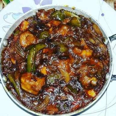 Photo of Chilli paneer. by Priyanka Nandi Sarkar at BetterButter