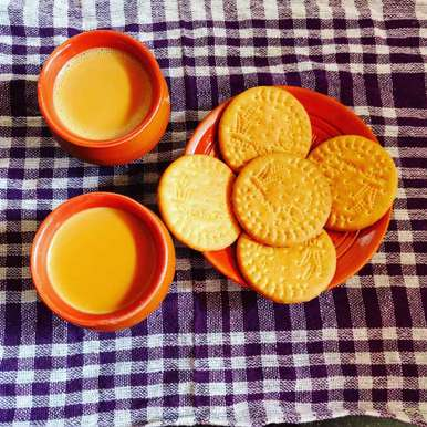 Photo of Masala tea with date palm jeggery. by Priyanka Nandi Sarkar at BetterButter