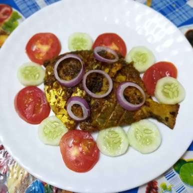 Photo of Masala pomfret fry. by Priyanka Nandi Sarkar at BetterButter